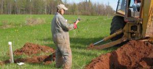Site-assessment-PEI-test-pit-backhoe-perm-test