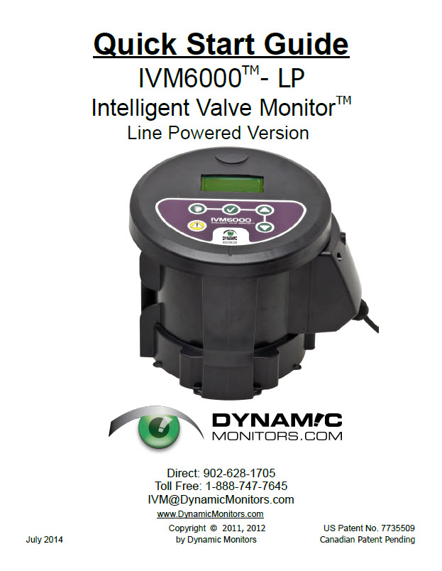 IVM6000-LP Quick Start Guide (Updated July 2014)